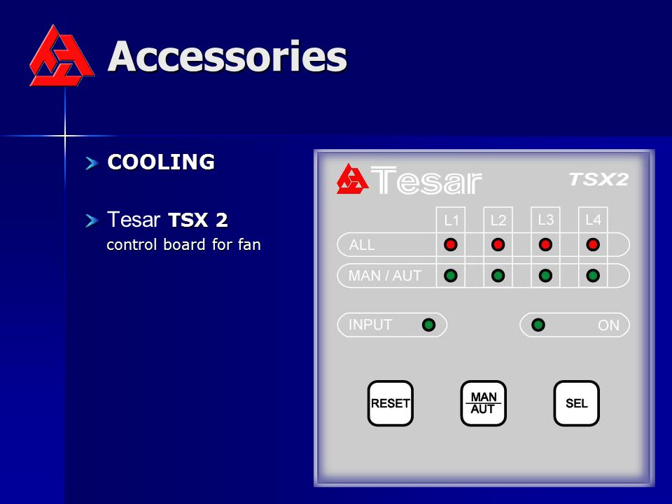 Accessories COOLING Tesar TSX 2 control board for fan