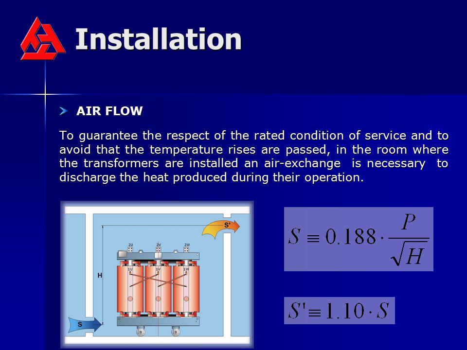 Installation AIR FLOW.