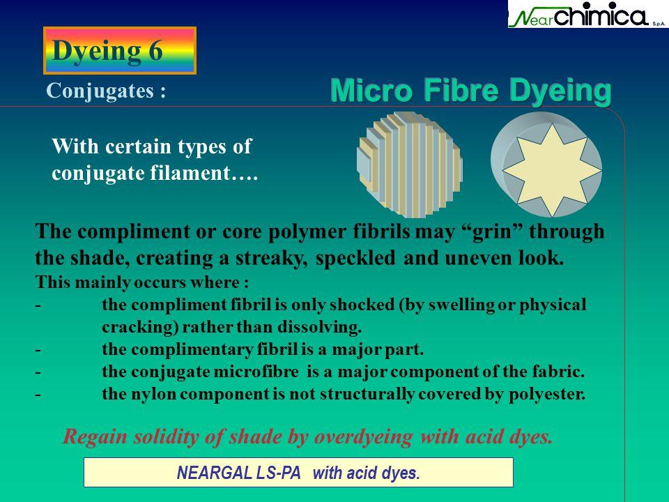 NEARGAL LS-PA with acid dyes.
