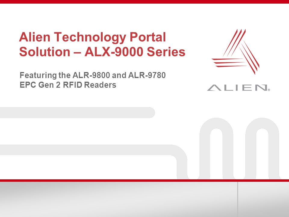 Alien Technology Portal Solution – ALX-9000 Series