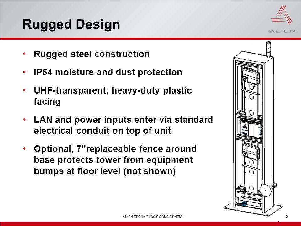 Rugged Design Rugged steel construction