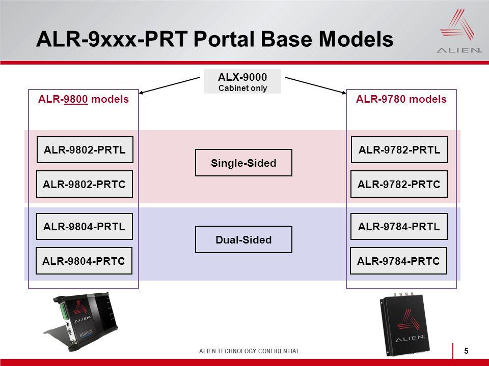 ALR-9xxx-PRT Portal Base Models