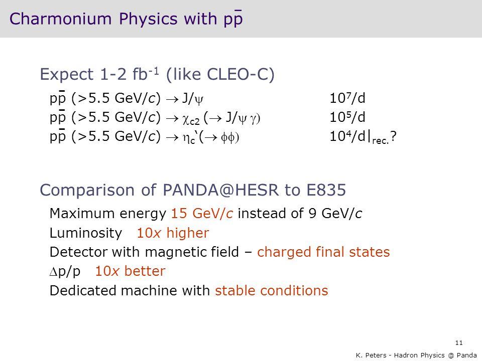 Charmonium Physics with pp