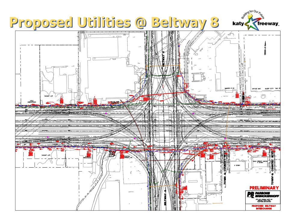 Proposed Utilities @ Beltway 8