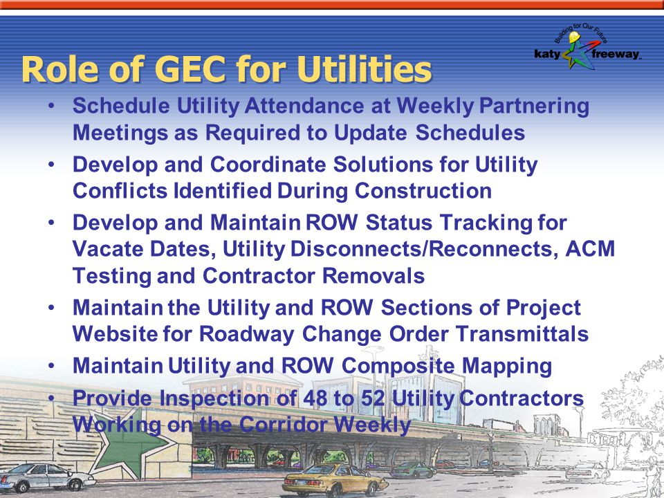 Role of GEC for Utilities