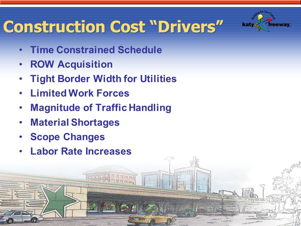 Construction Cost Drivers