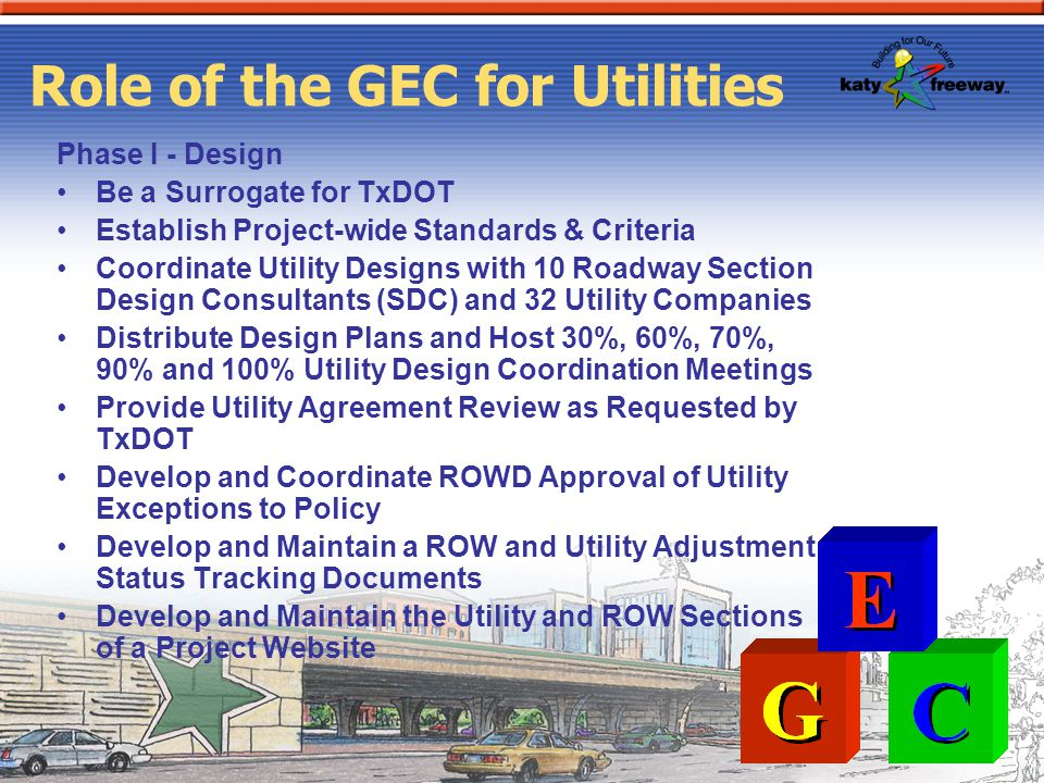Role of the GEC for Utilities