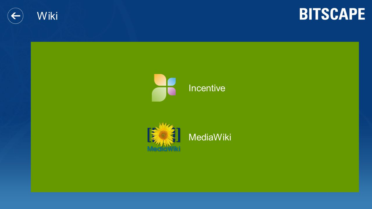 Wiki Incentive MediaWiki