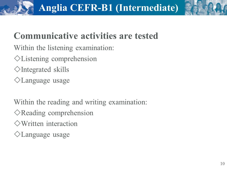 Anglia CEFR-B1 (Intermediate)