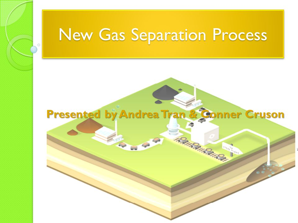 New Gas Separation Process