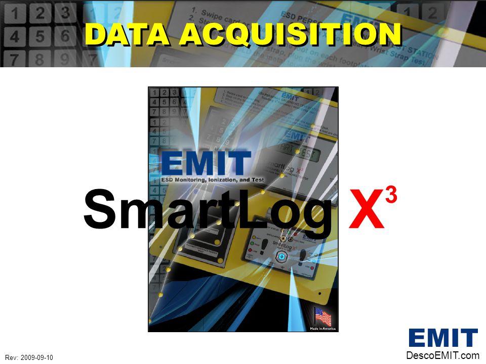 DATA ACQUISITION SmartLog X3 DescoEMIT.com Rev: 2009-09-10