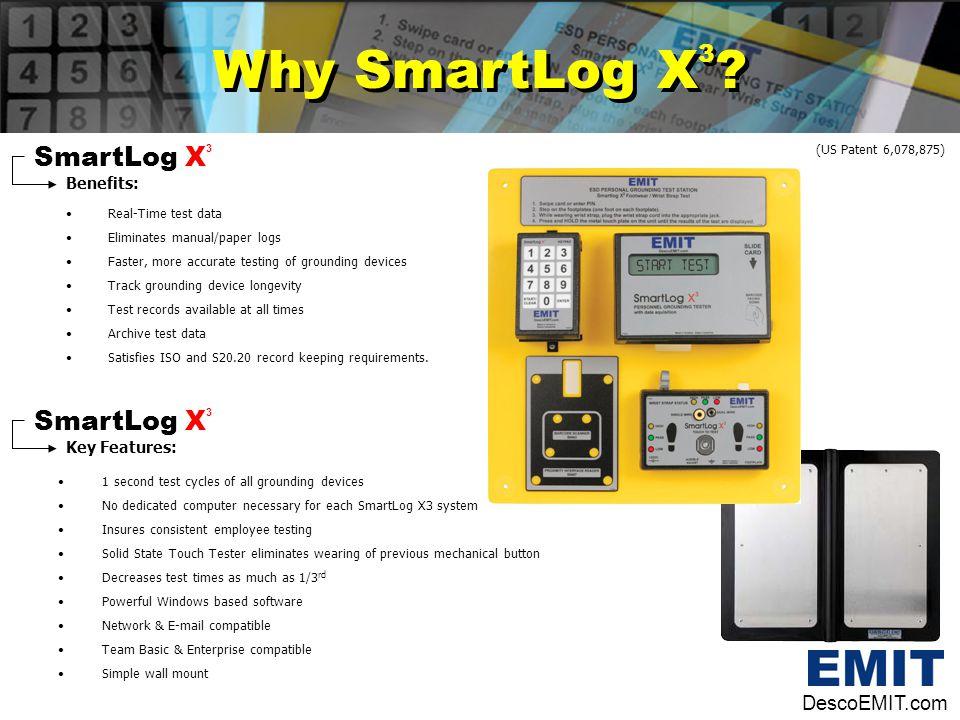 Why SmartLog X3 SmartLog X3 SmartLog X3 DescoEMIT.com Benefits: