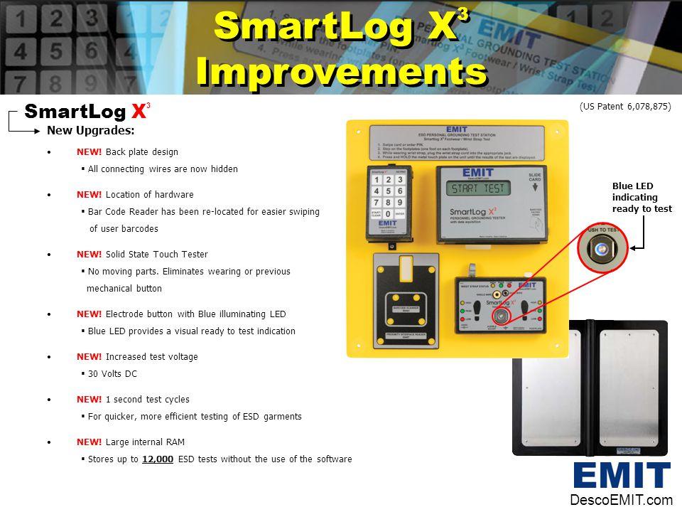 SmartLog X3 Improvements SmartLog X3 DescoEMIT.com New Upgrades: