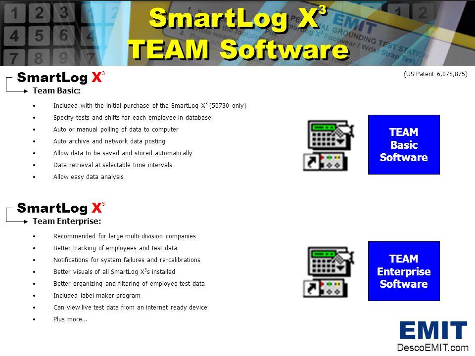 SmartLog X3 TEAM Software SmartLog X3 SmartLog X3 TEAM Basic Software