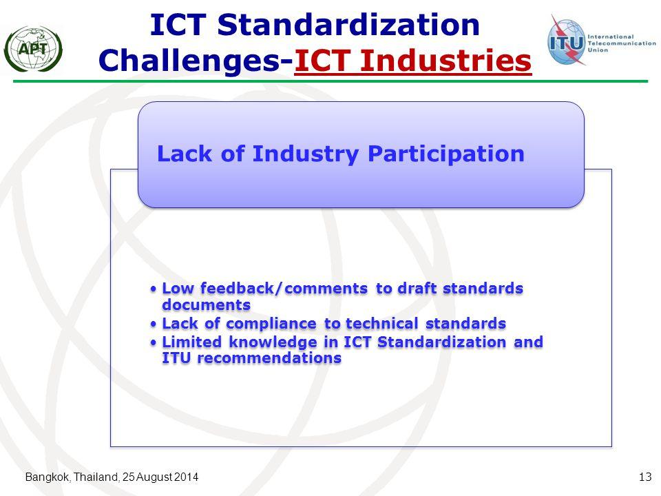 ICT Standardization Challenges-ICT Industries