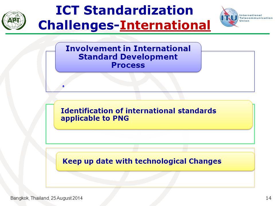 ICT Standardization Challenges-International