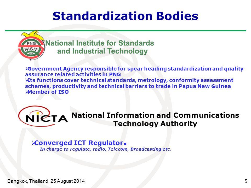 Standardization Bodies