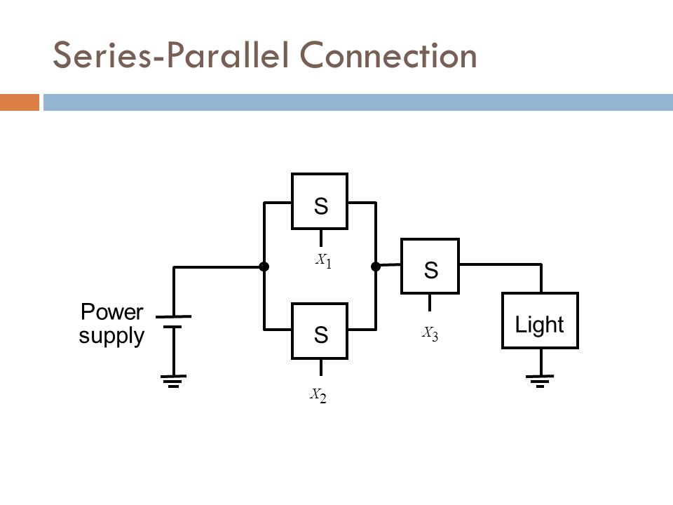Series-Parallel Connection