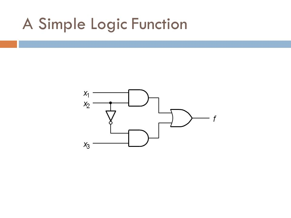A Simple Logic Function
