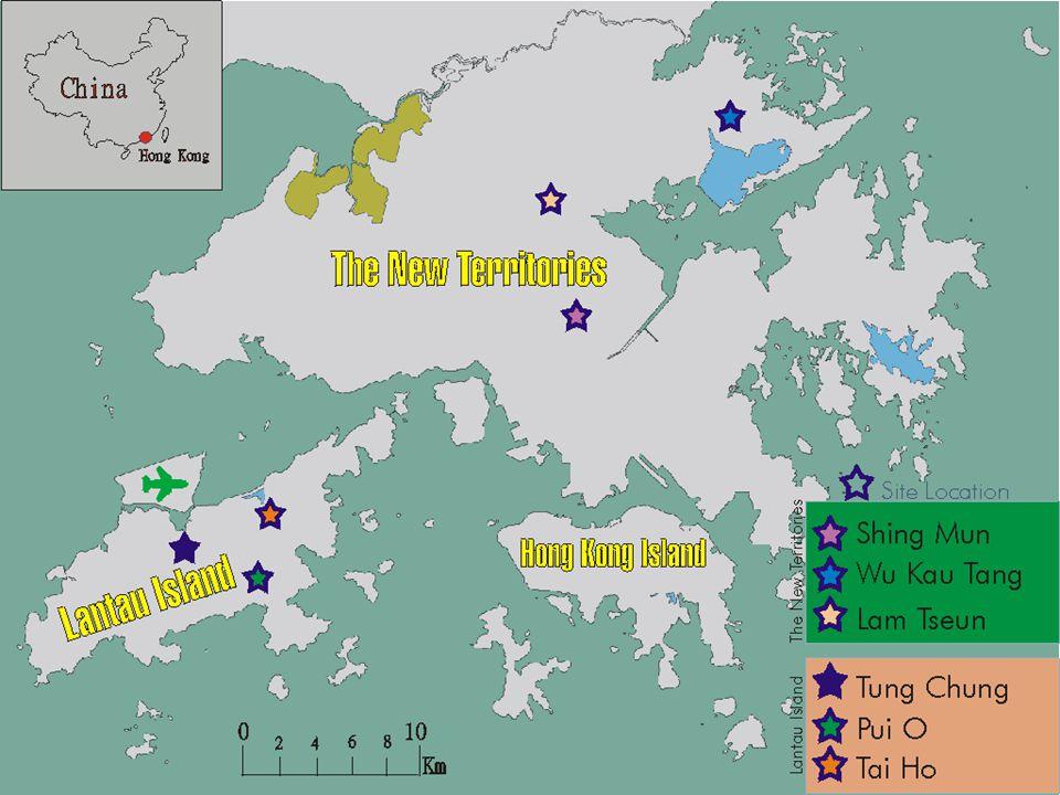 Study Sites (HK map)