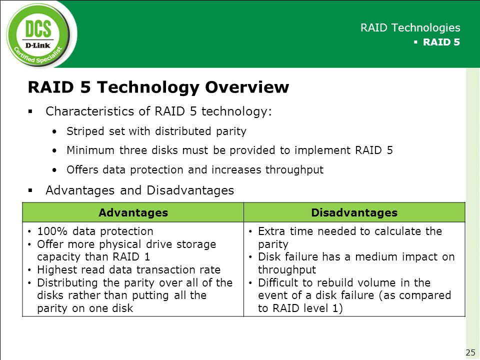 RAID 5 Technology Overview