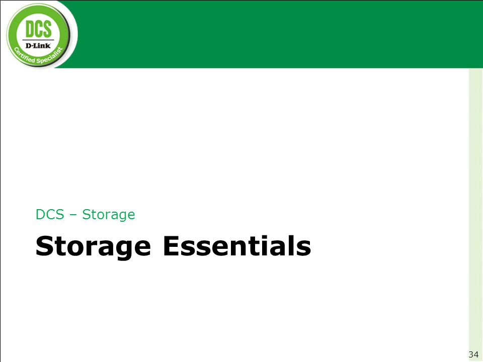 Storage Essentials