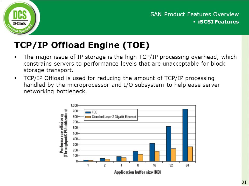 TCP/IP Offload Engine (TOE)