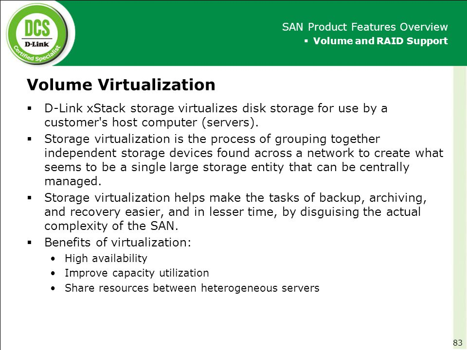 Volume Virtualization
