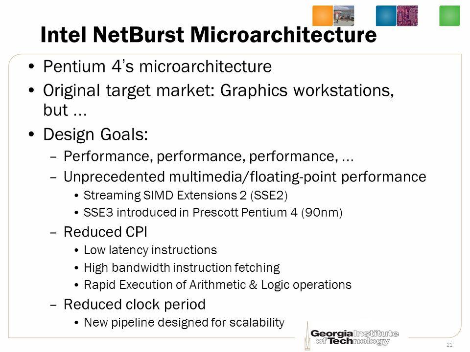 Intel NetBurst Microarchitecture