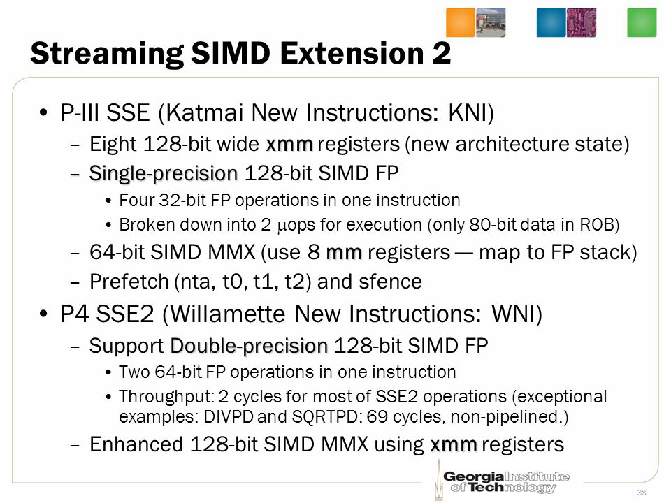 Streaming SIMD Extension 2