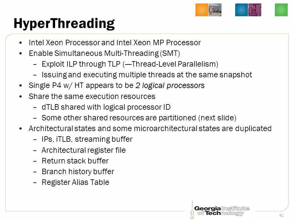 HyperThreading Intel Xeon Processor and Intel Xeon MP Processor