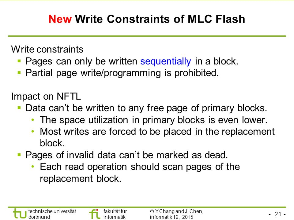 New Write Constraints of MLC Flash