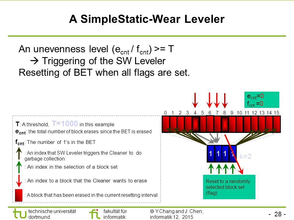 A SimpleStatic-Wear Leveler