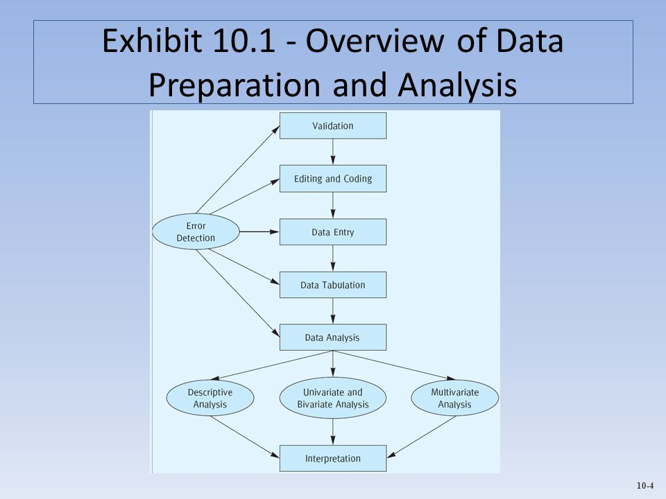 Exhibit 10.1 - Overview of Data Preparation and Analysis
