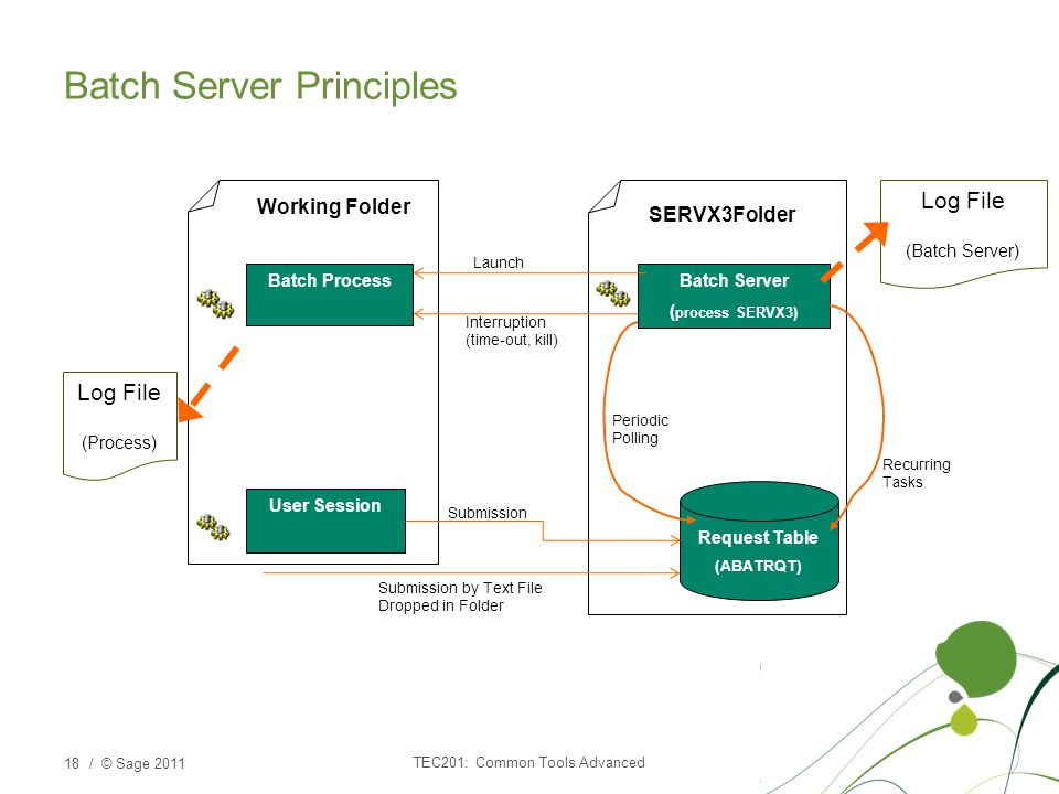 Batch Server Principles