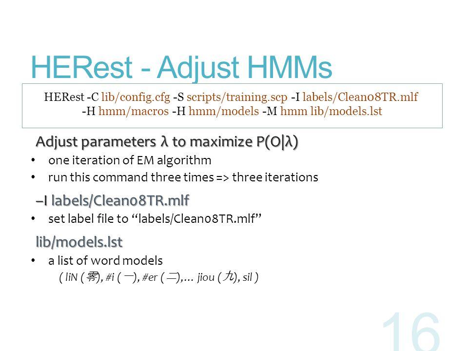 -H hmm/macros -H hmm/models -M hmm lib/models.lst