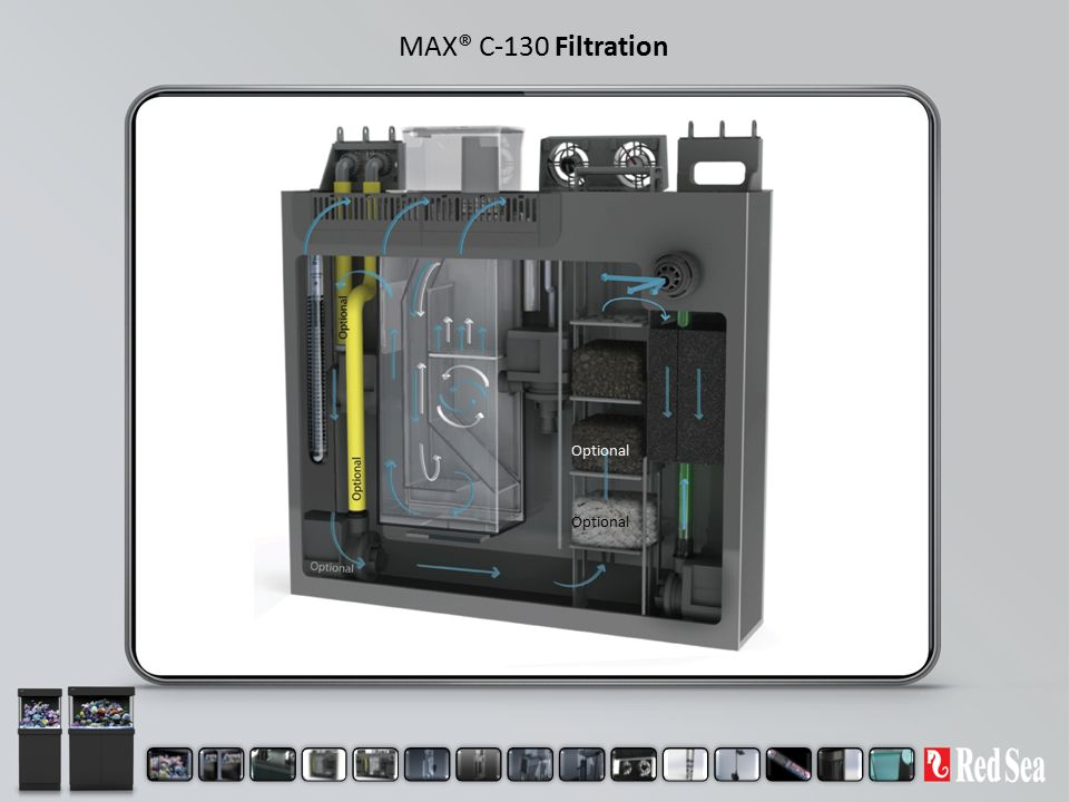 MAX® C-130 Filtration Optional Optional