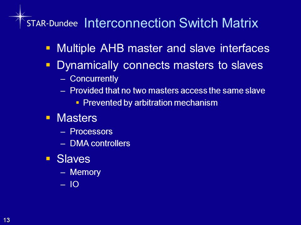 Interconnection Switch Matrix