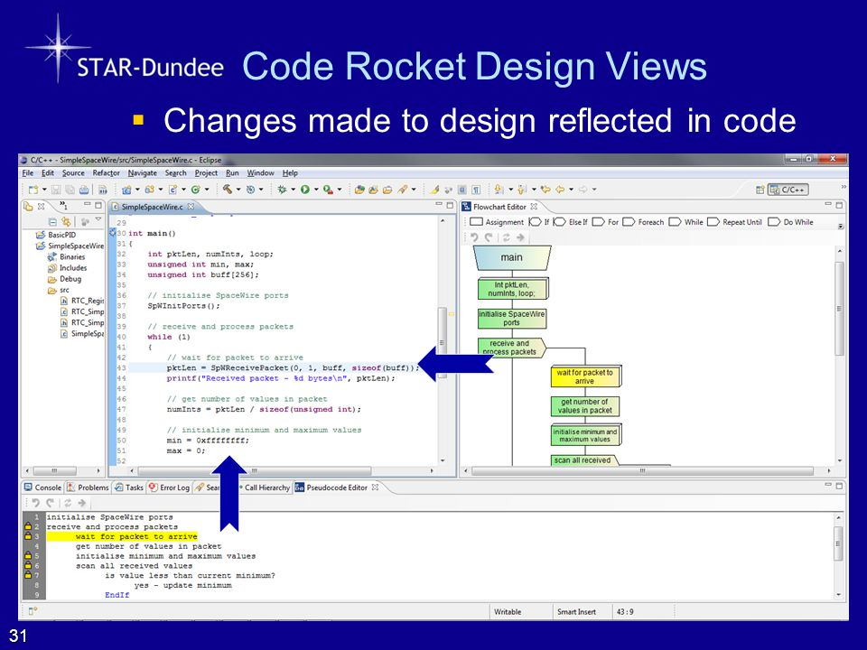 Code Rocket Design Views