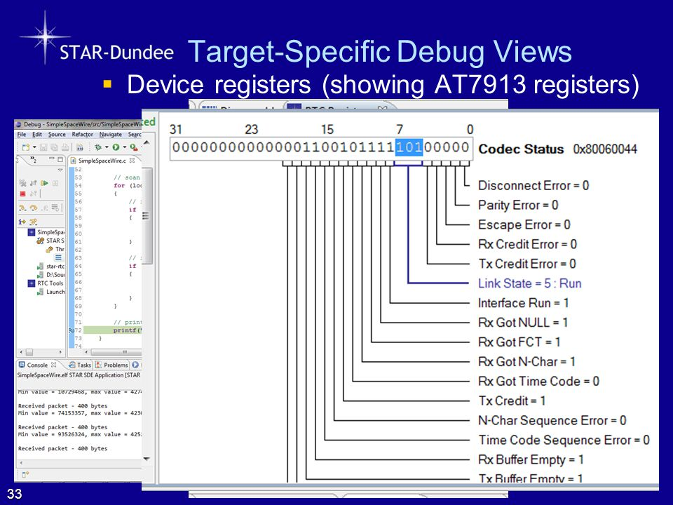 Target-Specific Debug Views