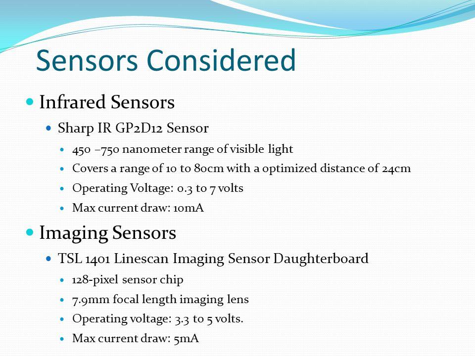 Sensors Considered Infrared Sensors Imaging Sensors