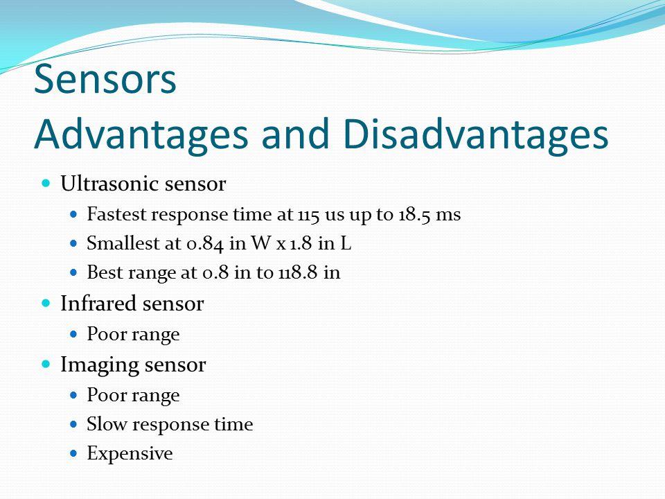 Sensors Advantages and Disadvantages