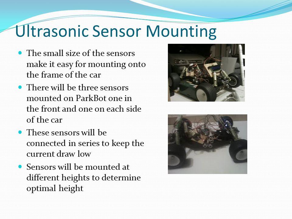 Ultrasonic Sensor Mounting
