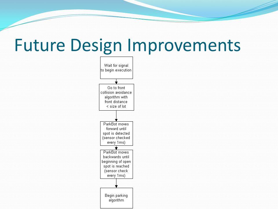 Future Design Improvements