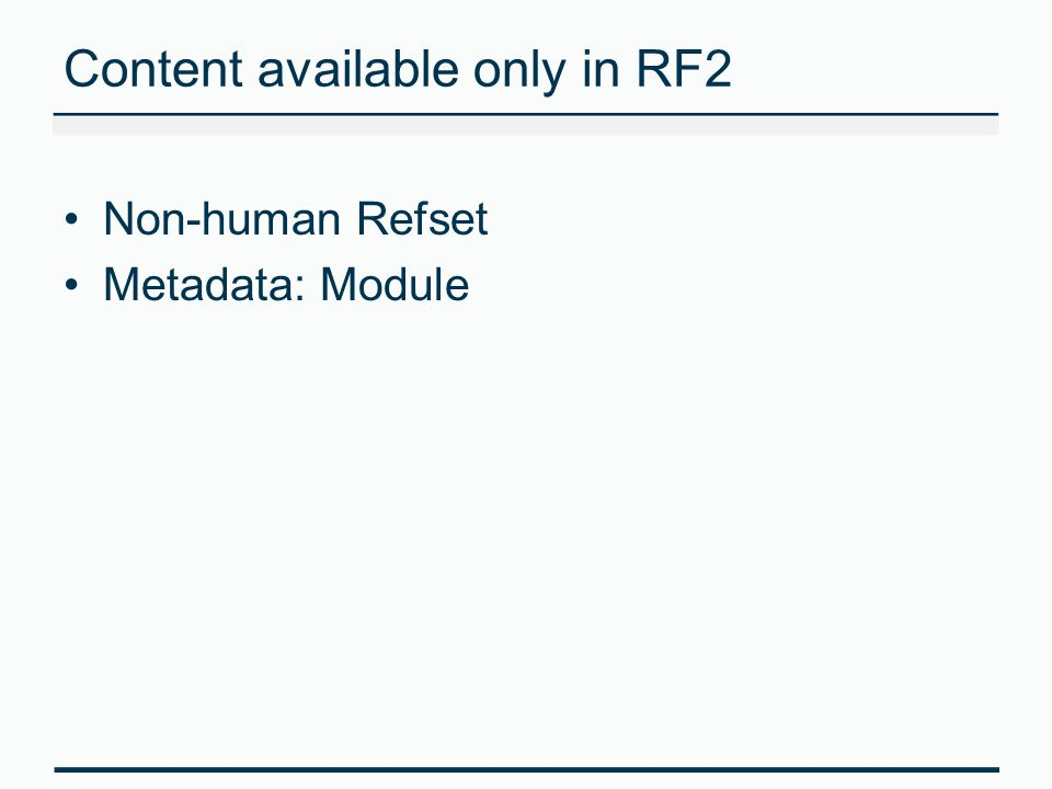 Content available only in RF2
