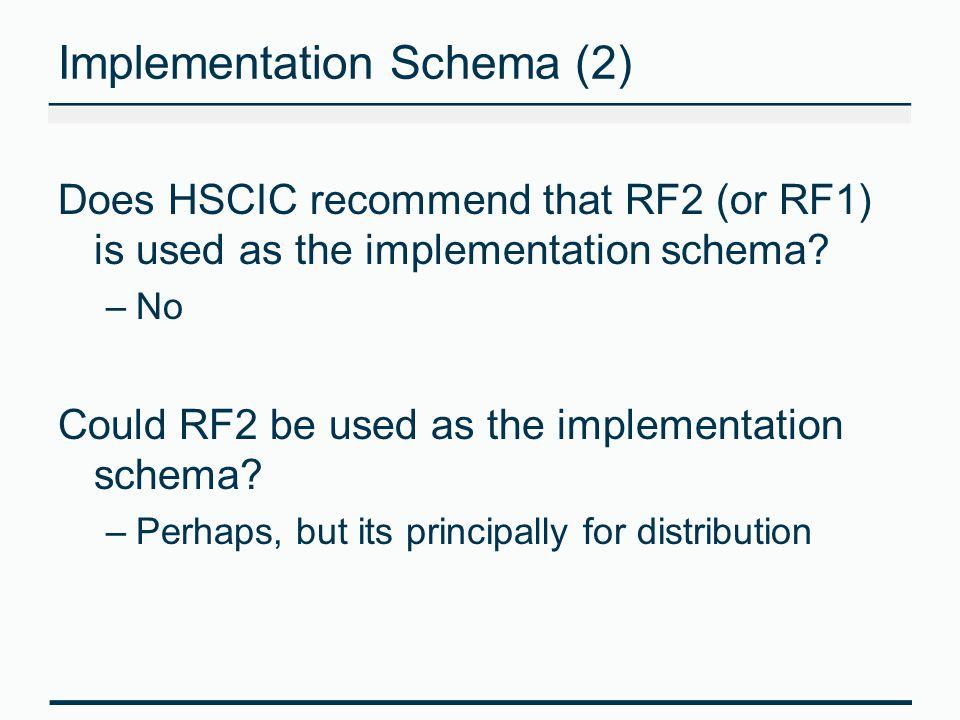 Implementation Schema (2)