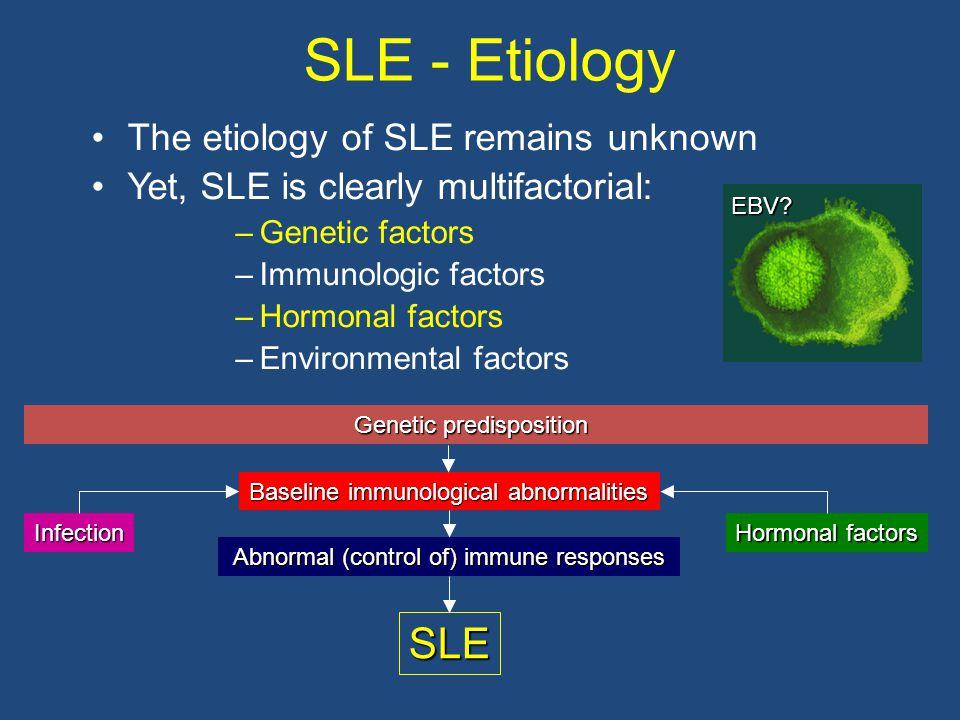 Abnormal (control of) immune responses