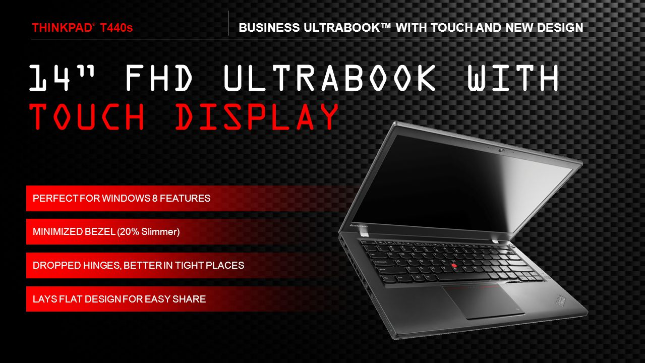 14 FHD ULTRABOOK WITH TOUCH DISPLAY