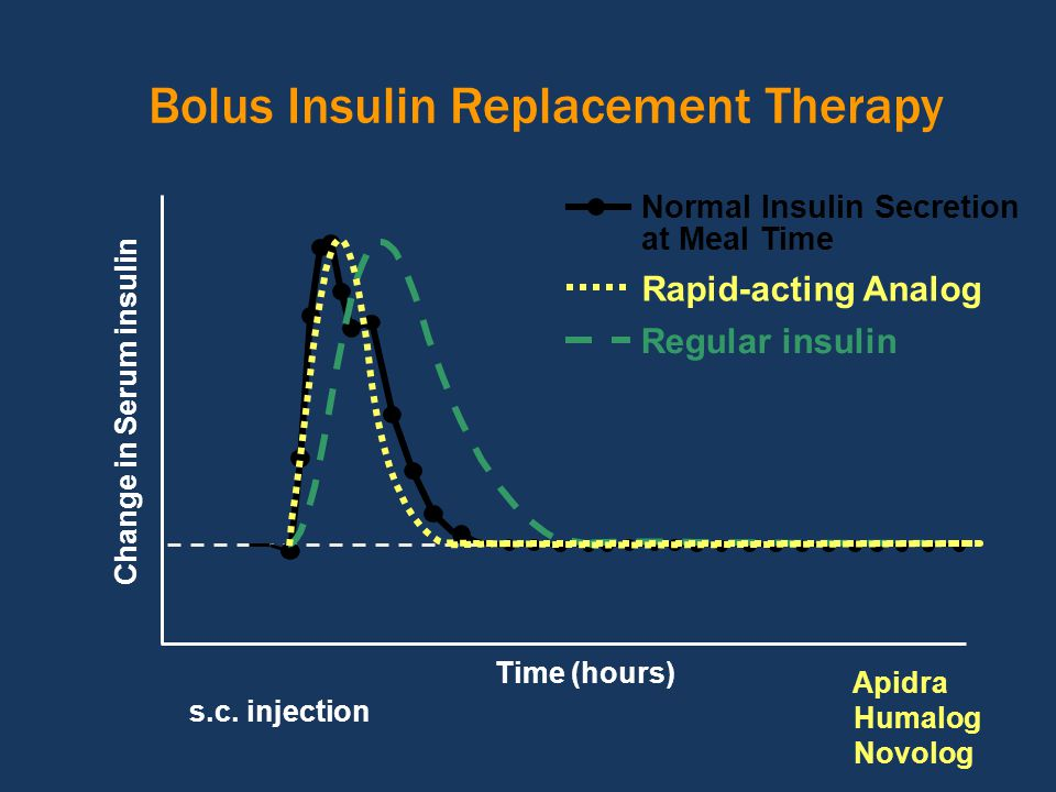 Bolus Insulin Replacement Therapy