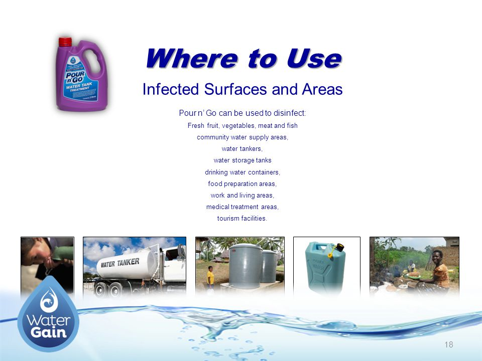 Where to Use Infected Surfaces and Areas
